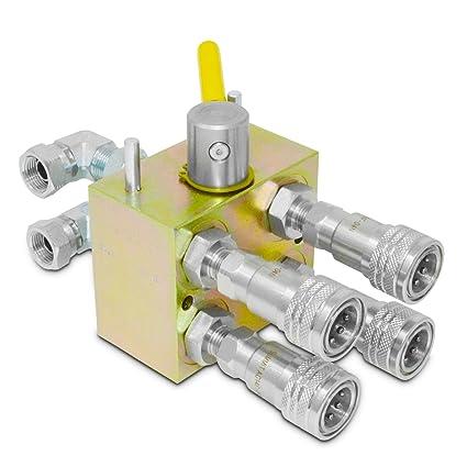 Manual Hydraulic Multiplier Diverter Valve Kit