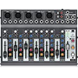 Behringer Xenyx 1002B Premium 10-Input 2-Bus Mixer with XENYX Preamps, British EQs and Optional Battery Operation