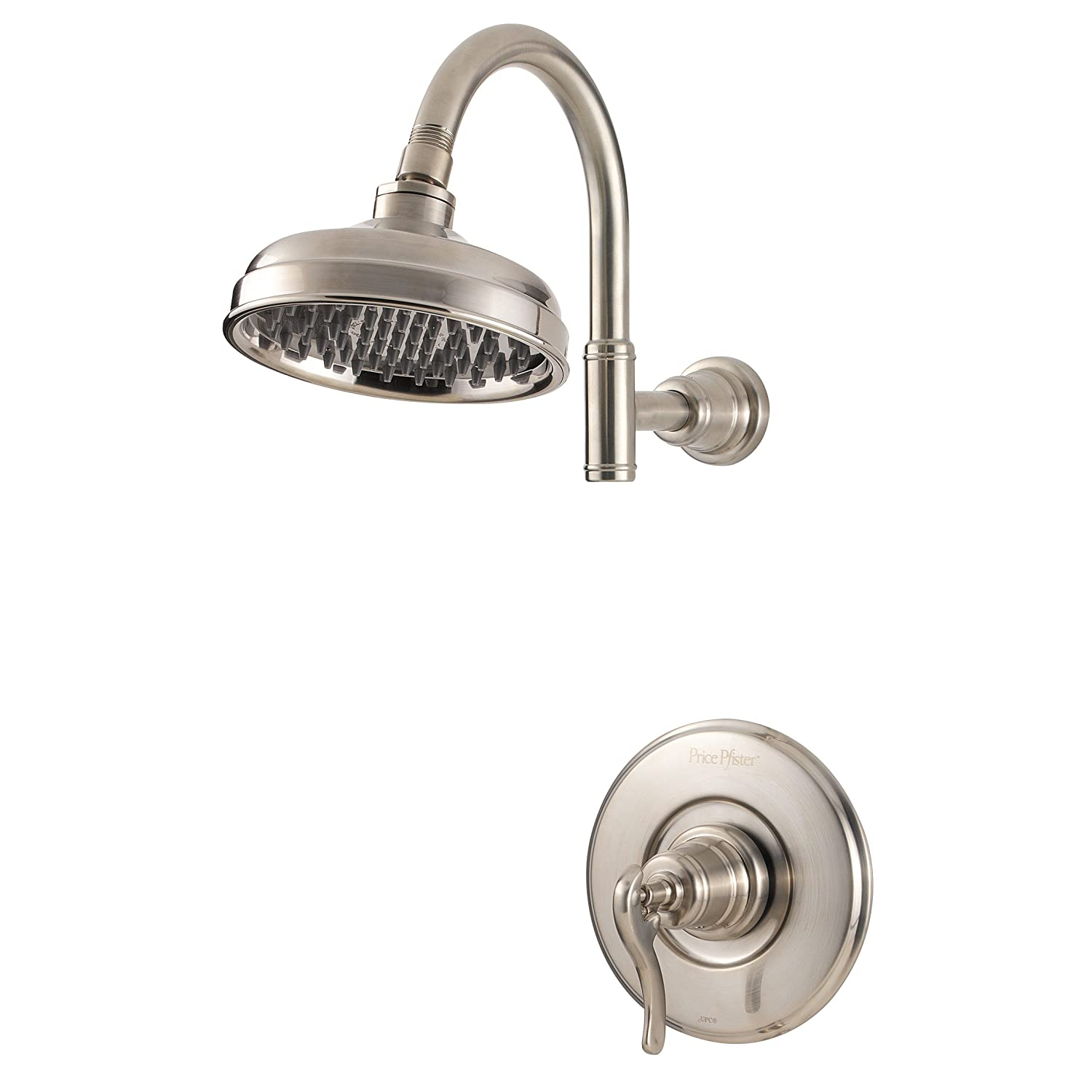 Pfister Ashfield 1-Handle Shower Only Trim, Brushed Nickel - Shower ...