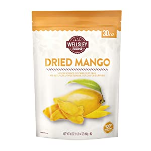 Wellsley Farms Dried Mango 30 Oz,, ()
