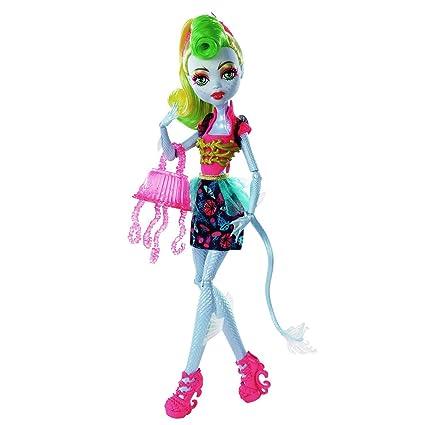 Amazon.com: Monster High Freaky Fusión Lagoonafire muñeca ...