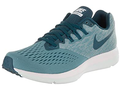 5311206c5b2f06 NIKE Women s Air Zoom Winflo 4 Running Shoe Blue ...