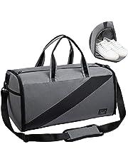 Valleycomfy – Sac de Sport Grande capacité avec Poche à Chaussures, Portable à la Main/sur l'épaule/en bandoulière