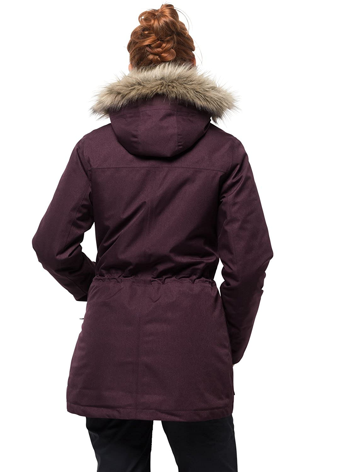 38ee9437115 Amazon.com: Jack Wolfskin Women's Coastal Range Parka Waterproof Insulated  Jacket: Clothing