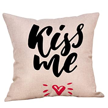 Love Pillow Covers Valentines Day 18x18\