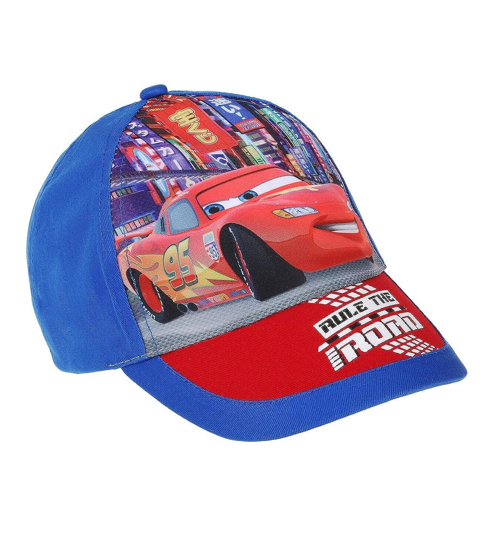 52 Disney Cars Ragazzi Cappello con visiera blu