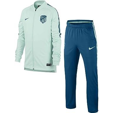 Nike ATM Y Nk Dry Sqd TRK K Chándal, Unisex niños, (Igloo/Abyss ...