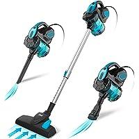 INSE Aspirador con Cable, 3 En 1 Vertical y de Mano, Hogar Escopa Aspiradora, Poderosa…