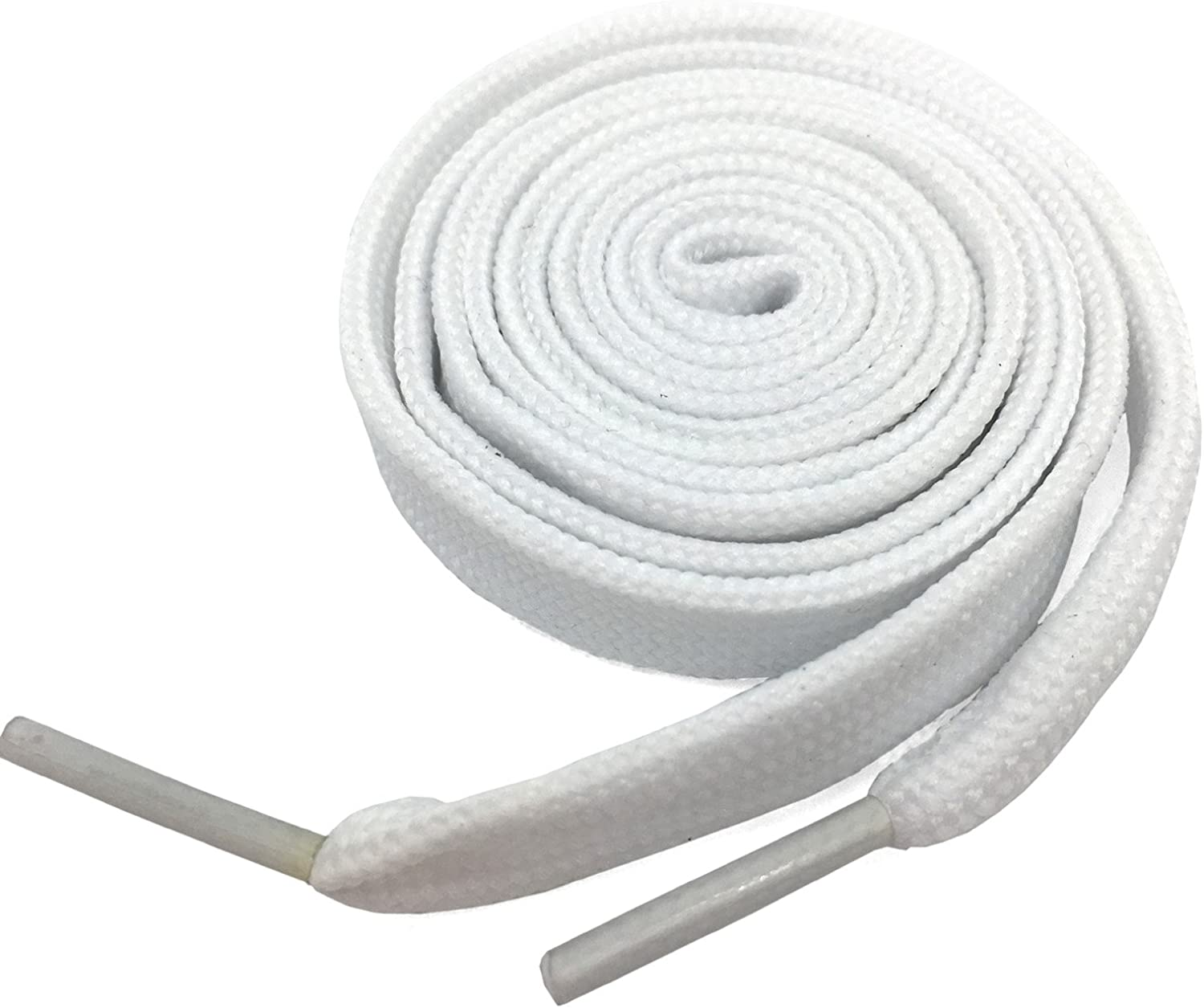 """Fat Shoelaces Thick Flat 2//5/"""" Wide Shoelaces Solid Color for All Shoe Types"""