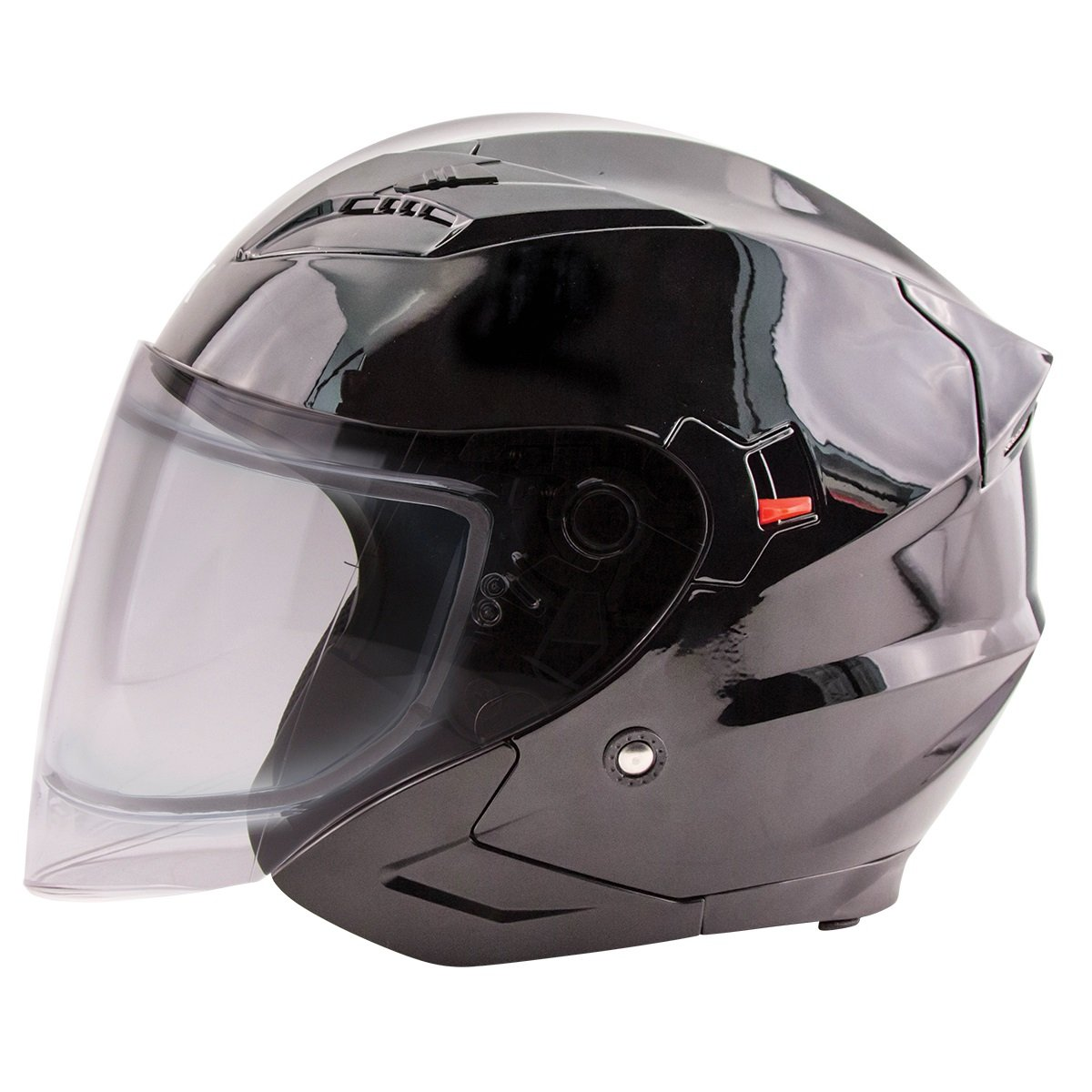 Zox Journey S double Shield Snow Open Face Helmet Black MD COMINU083524