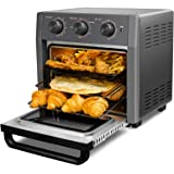 WEESTA 19 Quart Air Fryer Toaster Oven, 5-IN-1 Countertop Convection Oven with Air Fry Air Roast Toast Broil Bake Function fo