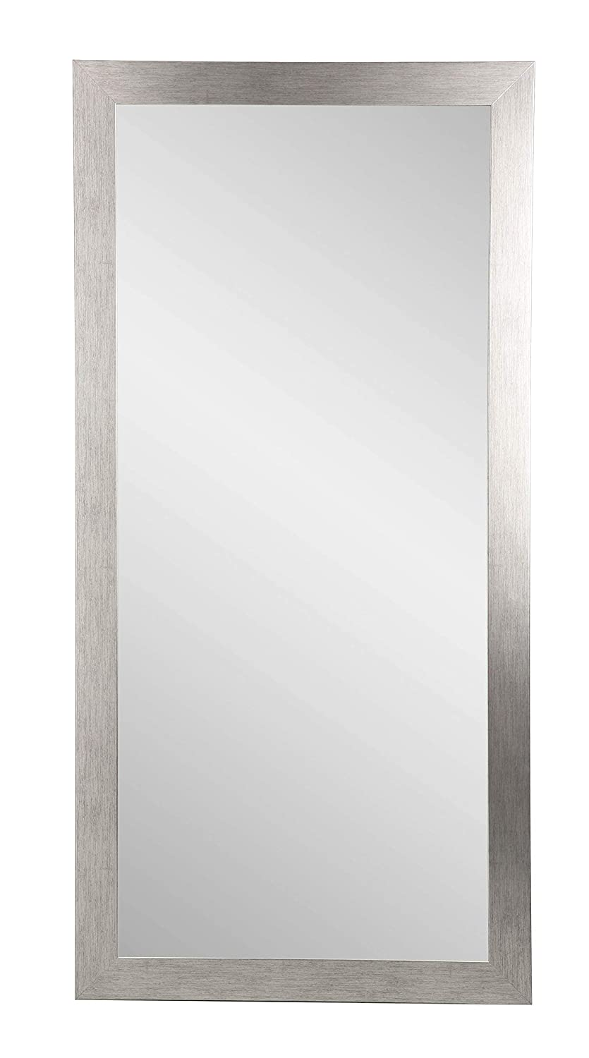 BrandtWorks Stainless Grain Wall Mirror, 32
