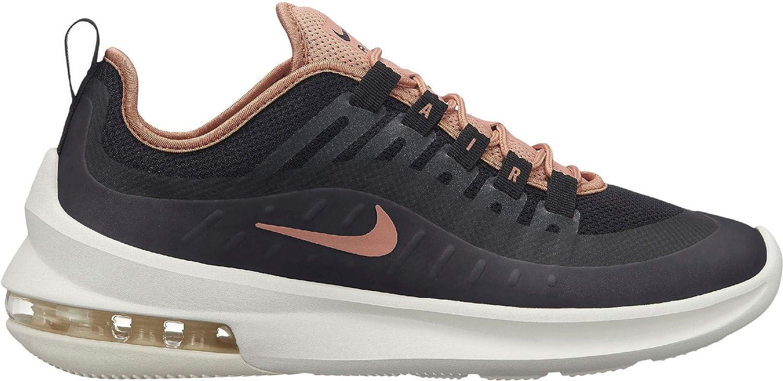 noir Rose or-sail Nike WMNS Air Max Axis, Chaussures d'Athlétisme Femme