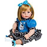 "Adora Toddler E.I.E.I.O 20"" Girl Weighted Doll Gift Set for Children 6+ Huggable Vinyl Cuddly Snuggle Soft Body Toy"