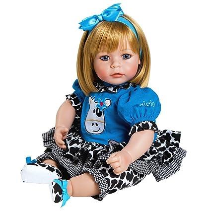 Adora Reborn Toddler E.I.E.I.O 20 quot  Girl Weighted Toddler Gift Set for  Children 6+ Huggable 73559a78f1