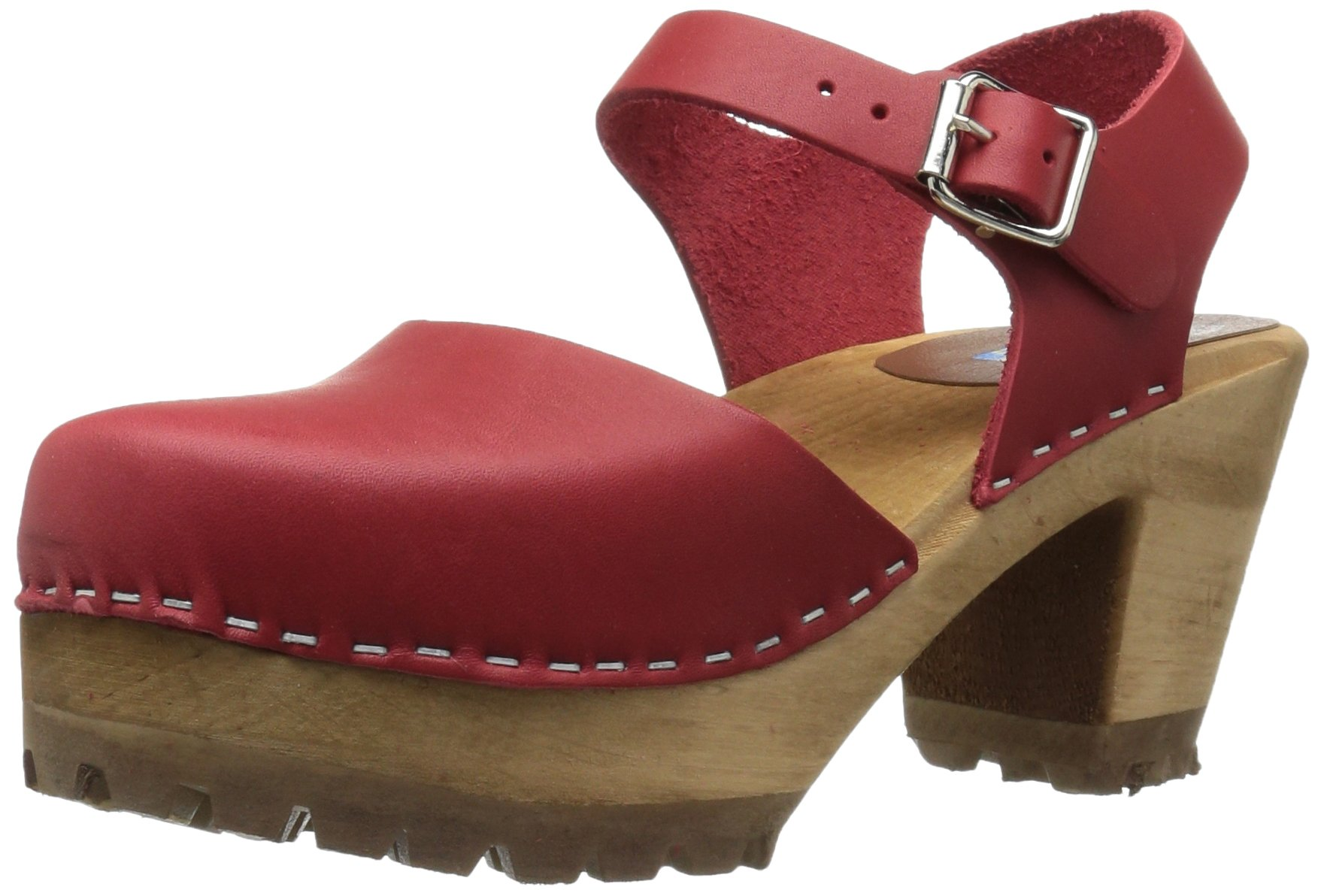 MIA Women's Abba Mule, Red, 9 M US