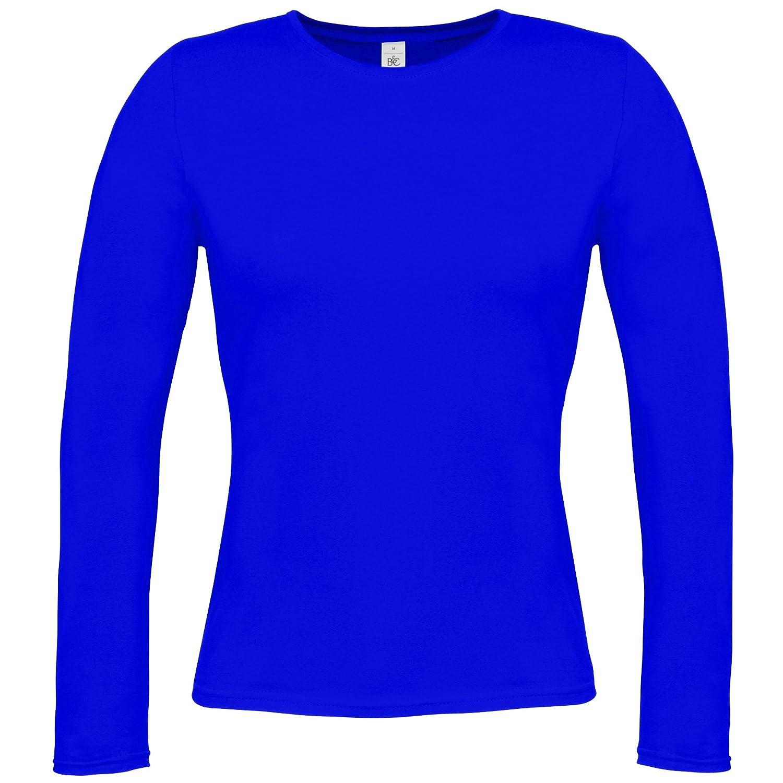 B& C Womens/Ladies Long Sleeve T-Shirt B and C