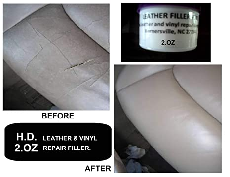 HD Leather and Vinyl Repair Filler Compound