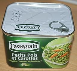 Cassegrain petits pois carottes la bo te de 706 g lot de 6 epicerie - Cuisiner petit pois carotte en boite ...
