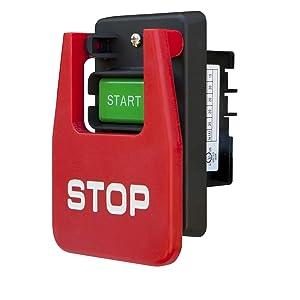POWERTEC 71007 110/220 Volt Paddle Switch