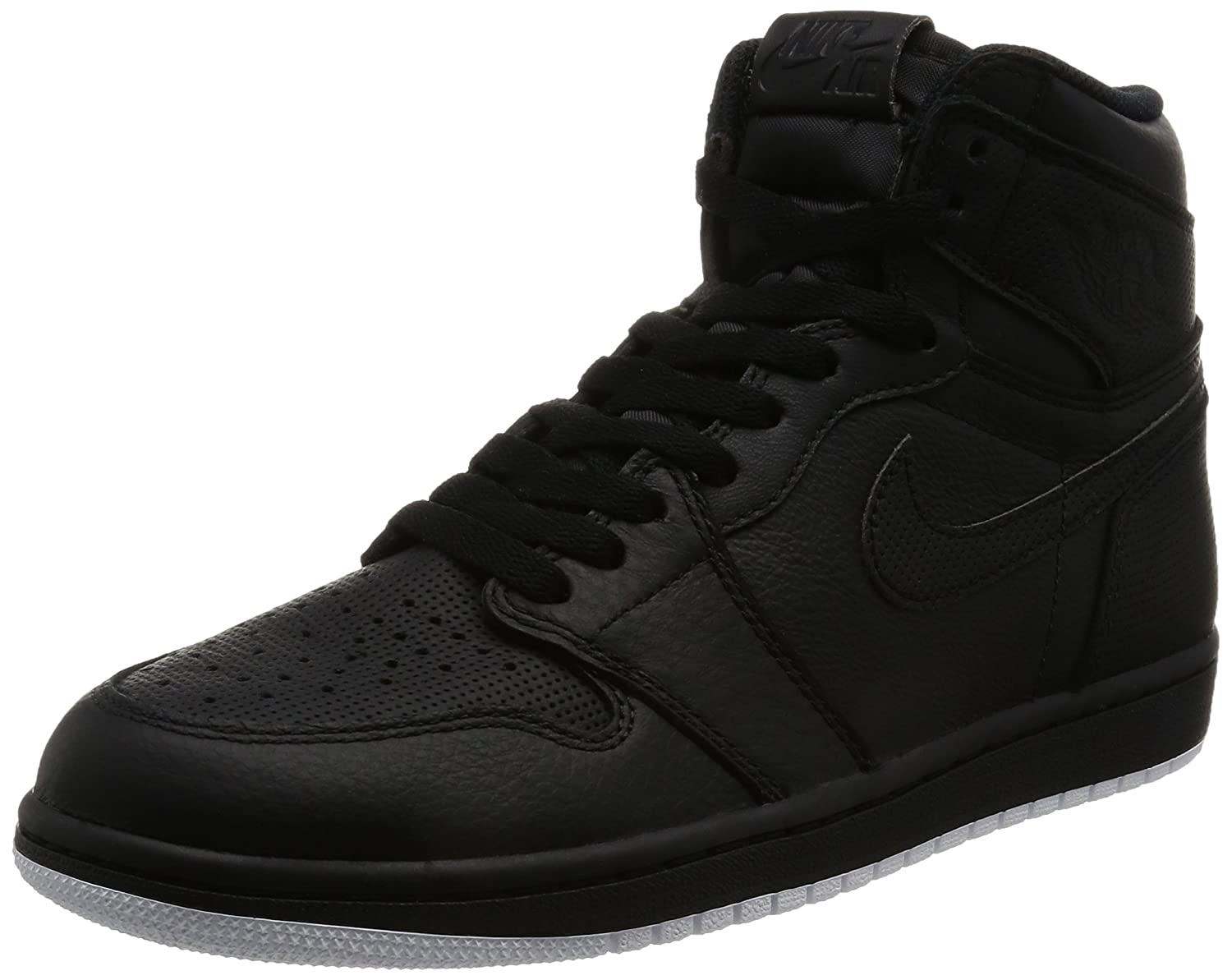 e3b700e11595f1 Amazon.com: Nike Jordan Mens Air Jordan 1 Retro High OG Black/White Black  Basketball Shoe 9 Men US: Sports & Outdoors