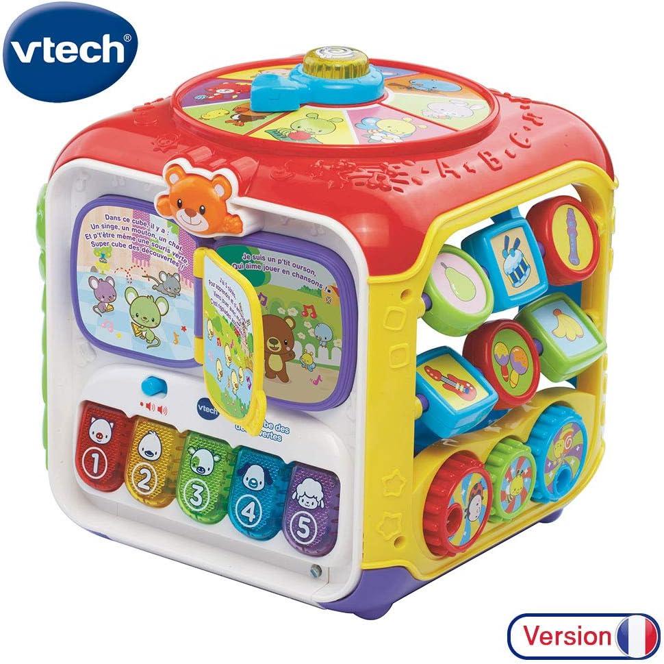 Super cube des d/écouvertes VTech 183405
