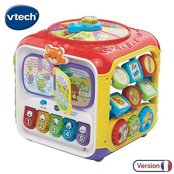 VTech - 183405 - Super cube des découvertes
