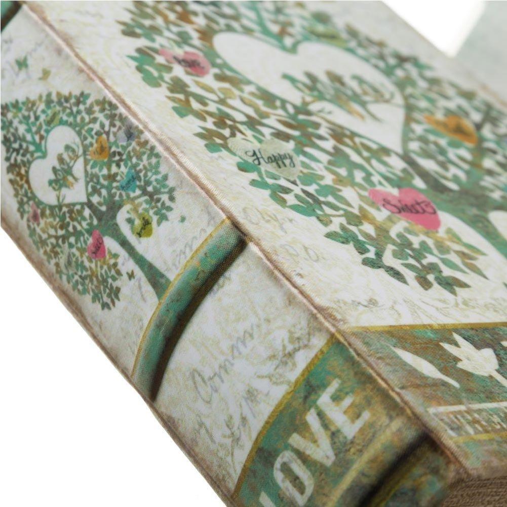 BAKAJI Cassaforte Cassetta di Sicurezza Finto Libro Arabo 2 Chiavi 16x24x5cm Security Book Protezione Proteggere Cassa