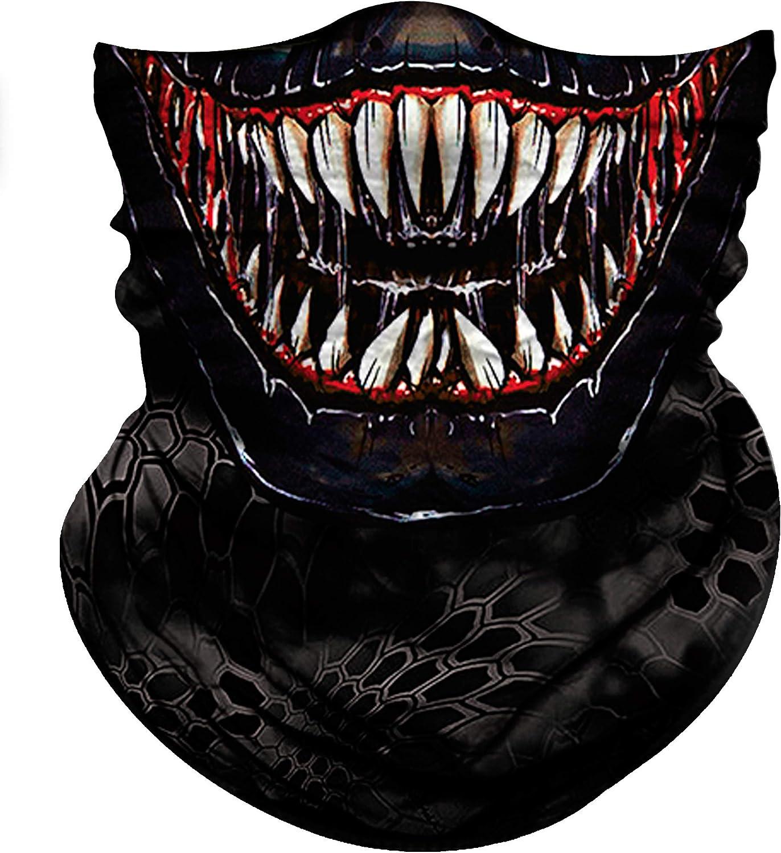 Obacle Bandana Face Mask Neck Gaiter Tube Mask Men Women for Sun Dust Protection