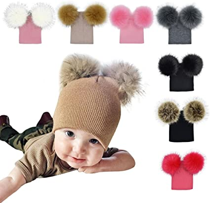 Fashion Winter Warm Knitted Hat Cap Bonnet Knit Ski Hats Caps Casual Female Male Boy Girl Hat Cap