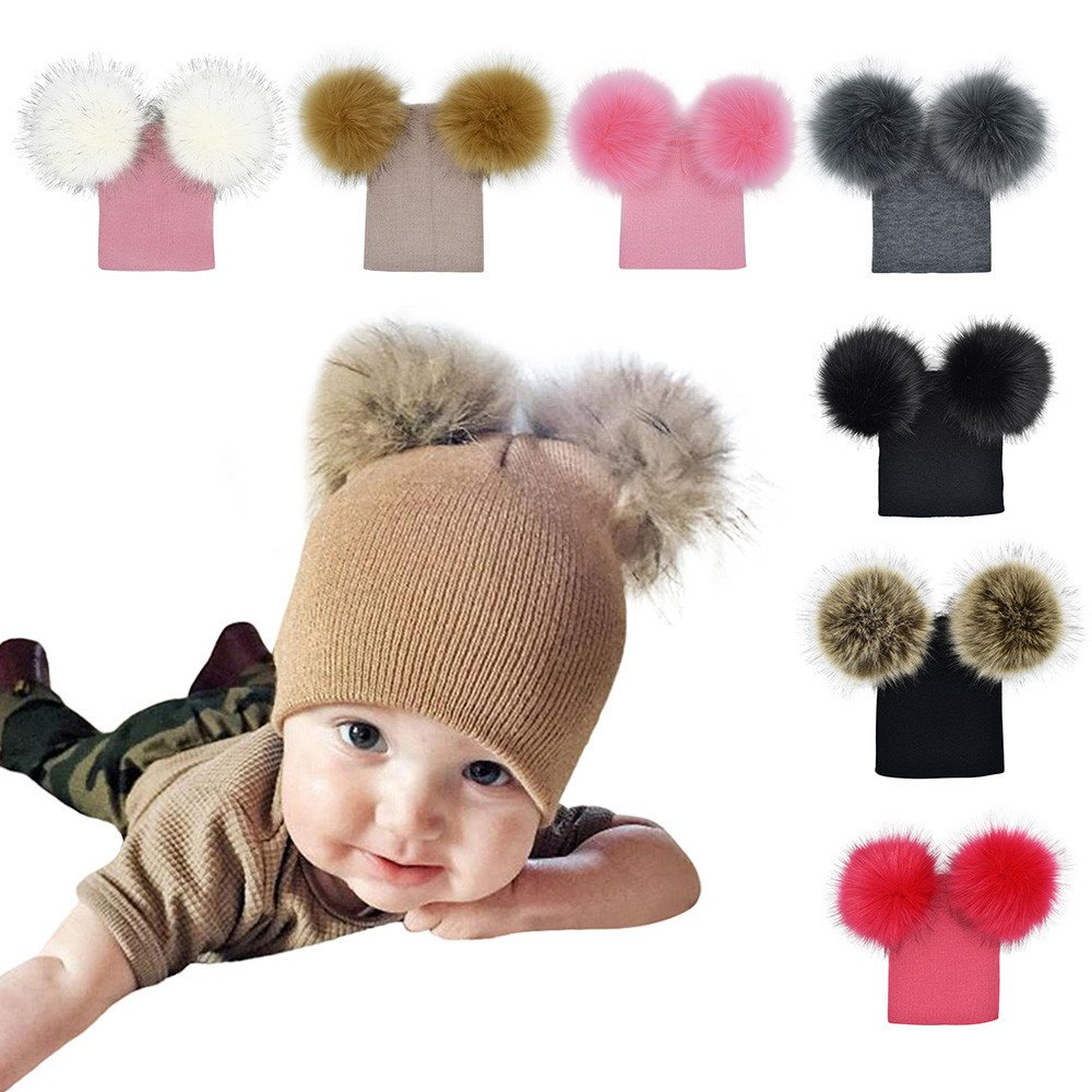 5ec4182e6 Amazon.com: Gbell Baby Girls Boys Crochet Knit Hats, Infant Kids ...