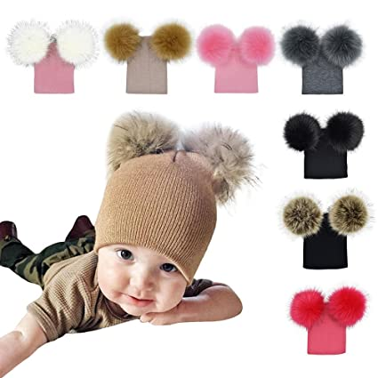 e9eb89c9a73 Amazon.com  Gbell Baby Girls Boys Crochet Knit Hats