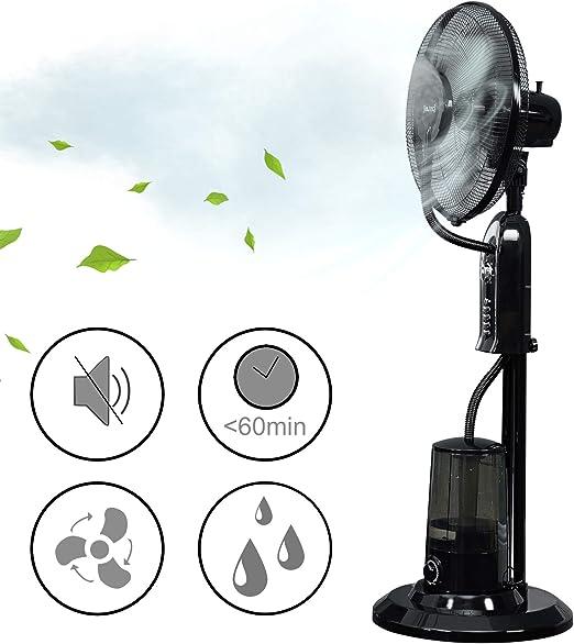 in.tec] Ventilador humidificador 125x40x40cm Climatizador ...