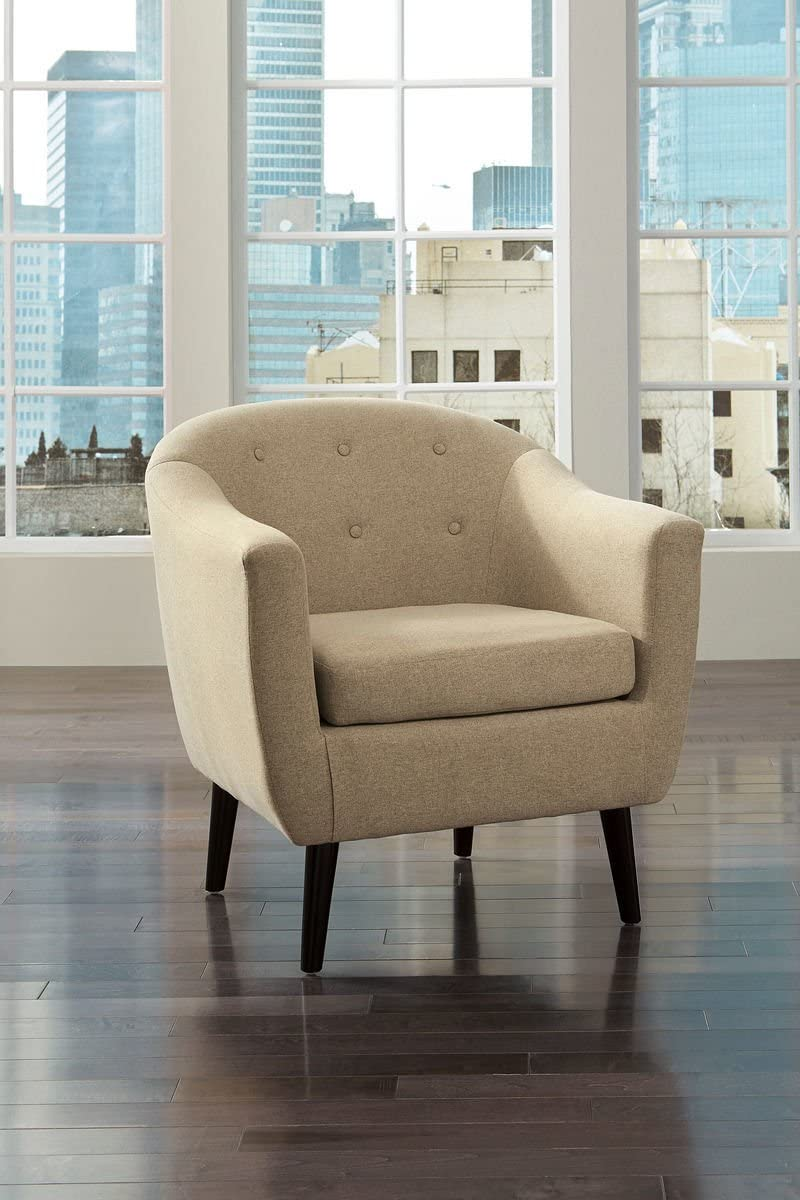 Signature Design by Ashley Klorey Contemporary Khaki Accent Chair