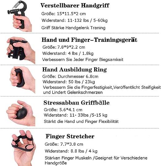 2 Stü Erwachsene Hand Widerstand Finger Extensor Exerciser Stärker Trainer