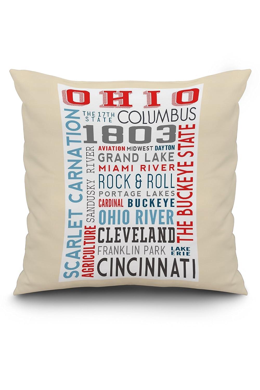 Amazon.com: Ohio - Typography (20x20 Spun Polyester Pillow ... on pike ohio map, southeastern ohio map, northfield ohio map, south bass island ohio map, white cottage ohio map, stark ohio map, sandusky minnesota map, flint ohio map, ohio county map, wapakoneta ohio map, st bernard ohio map, east canton ohio map, pleasant ridge ohio map, boise ohio map, alliance ohio map, lawrence ohio map, ohio on us map, ohio ohio map, parma hts ohio map, destination point map,