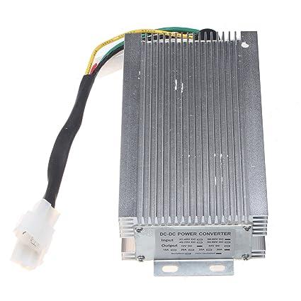 amazon com holdwell dc converter 48v to 12v step down reducer 30a rh amazon com