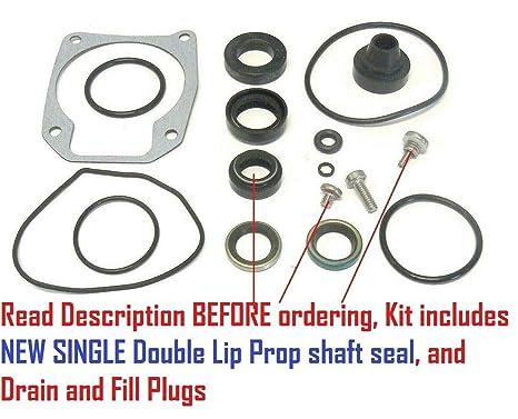 Amazon com: Johnson Evinrude Lower Unit Gearcase Seal Kit
