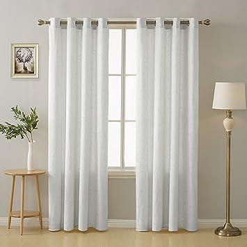 Deconovo Gardinen Fenster Vorhange Osen Vorhange Deko 240x140 Cm