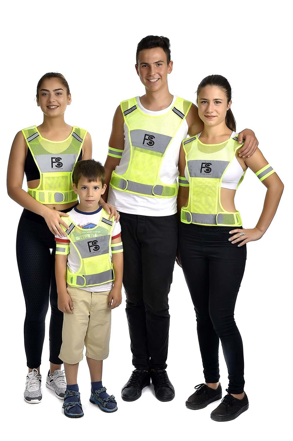 Nighttime and Daytime Visibility Safety Reflective Vest for Running Walking Cycling High Visibility Lightweight Jogging Motorcycling Gear With 360 Reflector Made of High Quality Polyester
