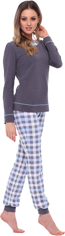 Merry Style Pigiama Manica Lunga Donna MS10-236