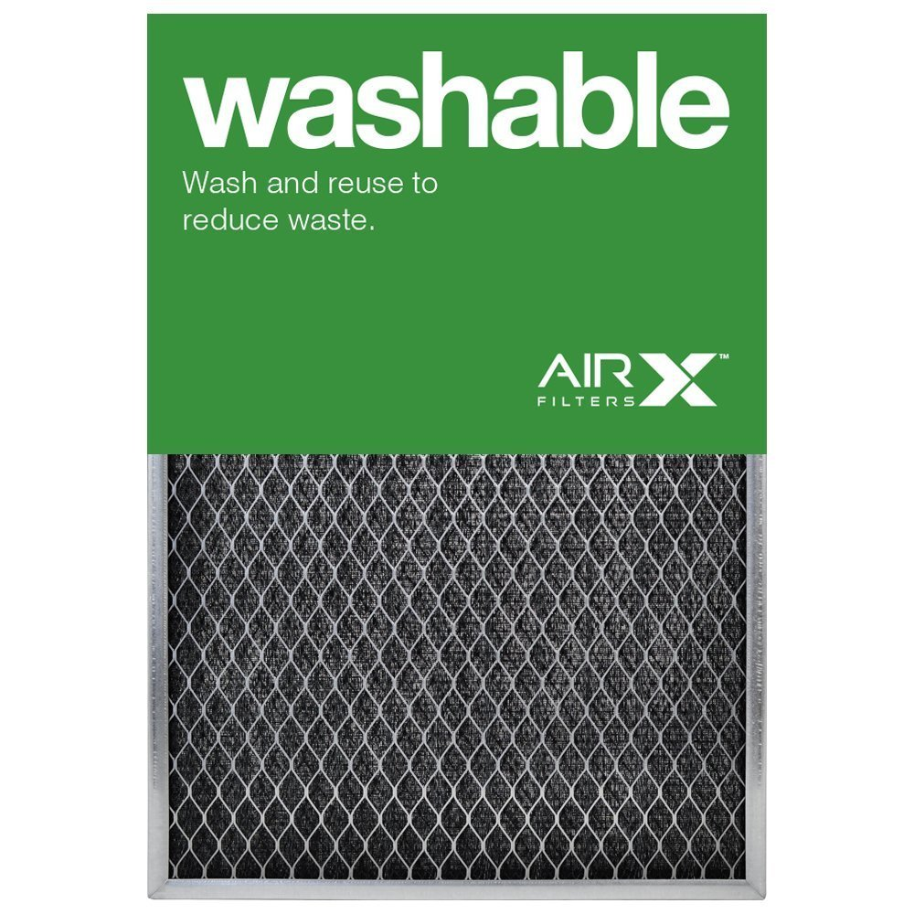 14'' X 20'' X 1'' Lifetime Permanent Washable Filter by Supportiback