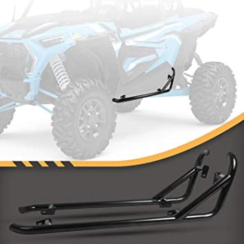 RANSOTO 1 pair Nerf Bars Compatible with 2014-2020 Polaris RZR XP1000 TURBO S 1000 RZR 900 XC S 900 2 doors