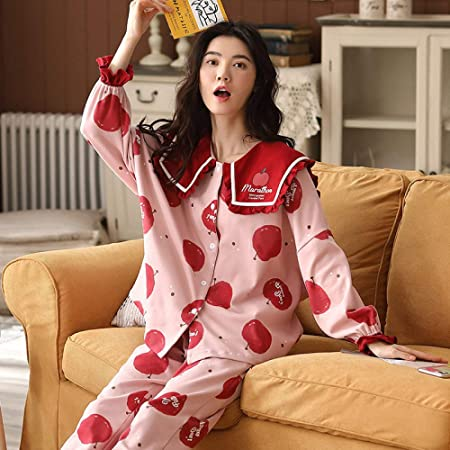 LIUYUNN Pijamas De Mujer,Pijamas De Mujer De Talla Grande con ...