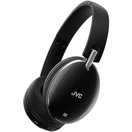 JVC inalámbrico cancelación de ruido auriculares inalámbrico cancelación de ruido Negro (has90bnb)