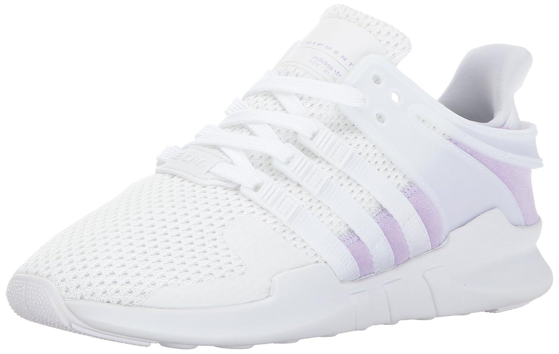 adidas Originals Women's EQT Support Adv W B01N0QWZB1 9.5 B(M) US|White/White/Purple Glow