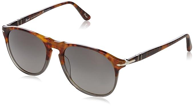 Sunglasses PO9649S Fuoco E Ardesia 1023M3, 55 Persol