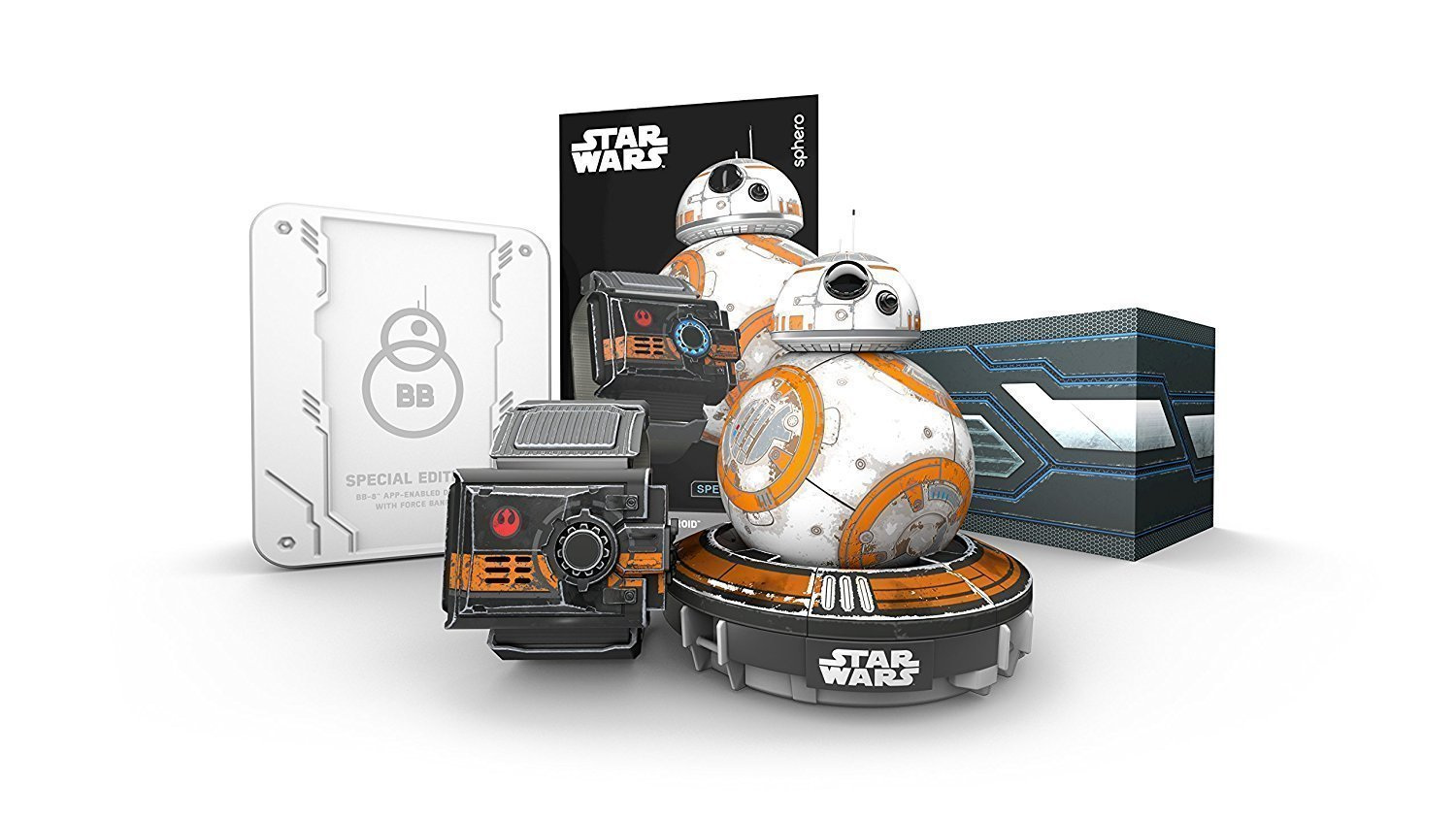 Sphero Special Edition Battle-Worn BB-8 with Force Band (Renewed) by Sphero (Image #3)
