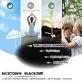 NICETOWN Blackout Curtain for Bathroom Windows