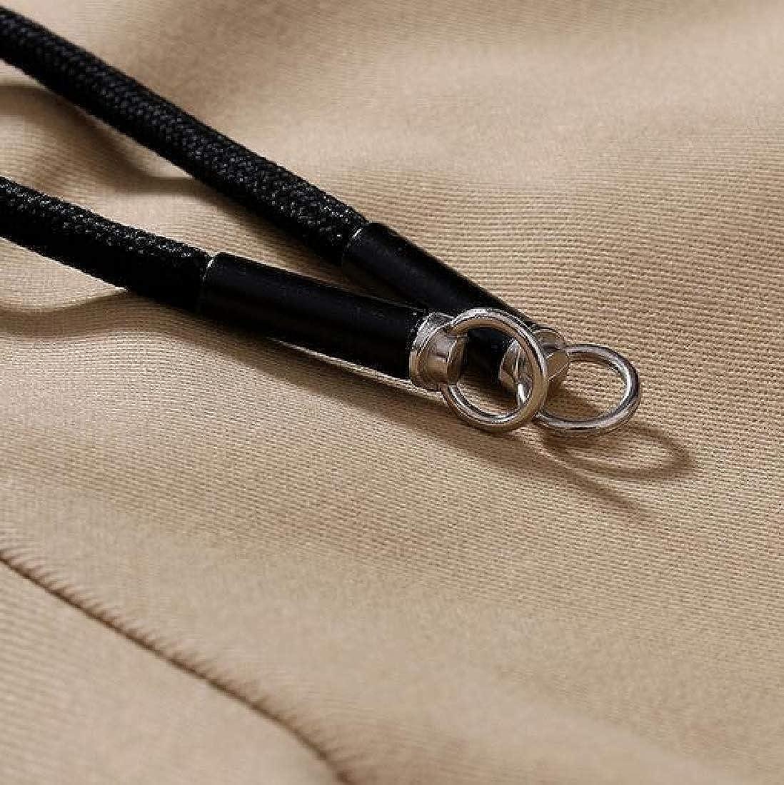 MOUTEN Mens Pockets Cargo Pants Cotton Casual Elastic Waisted Jogger Pants